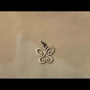 Retired James Avery butterfly charm